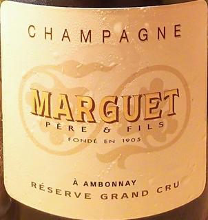 Champagne Marguet Ambonnay Réserve Grand Cru Brut