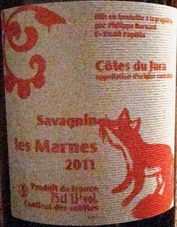 Philippe Bornard Côtes du Jura Savagnin Les Marnes