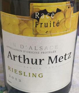 Arthur Metz Épicé Puissant Select Riesling