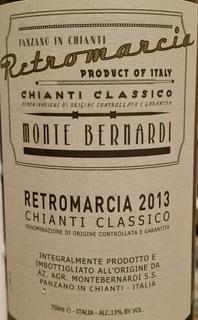 Monte Bernardi Retromarcia Chianti Classico