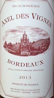 Axel des Vignes Rouge