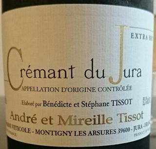 André et Mireille Tissot Crémant du Jura Extra Brut