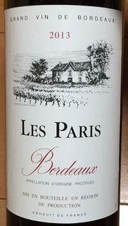 Les Paris Bordeaux