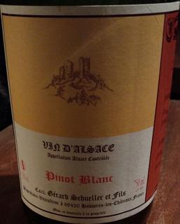 Gérard Schueller Pinot Blanc III KL