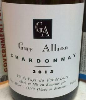 Guy Allion Chardonnay