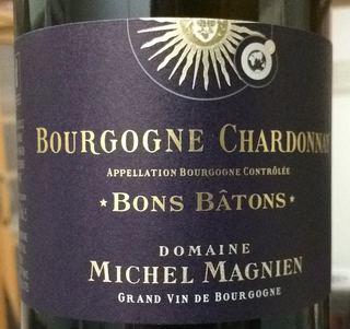 Dom. Michel Magnien Bourgogne Chardonnay Bons Bâtons(ドメーヌ・ミッシェル・マニャン ブルゴーニュ シャルドネ ボン・バトン)