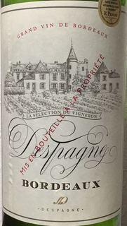 Despagne Bordeaux Blanc(デスパーニュ ボルドー ブラン)