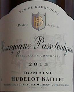 Dom. Hudelot Baillet Bourgogne Passetougrain