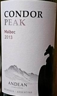Condor Peak Malbec