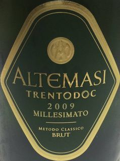 Altemasi Trento Millesimato Brut(アルテマージ トレント ミレジマート ブリュット)