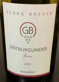 Georg Breuer Spätburgunder Jeux