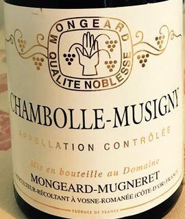 Mongeard Mugneret Chambolle Musigny