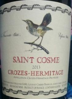 Saint Cosme Crozes Hermitage