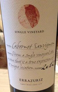 Errazuriz Single Vineyard Cabernet Sauvignon