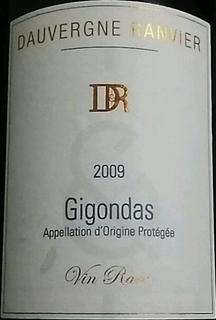 Dauvergne Ranvier Gigondas Vin Rare