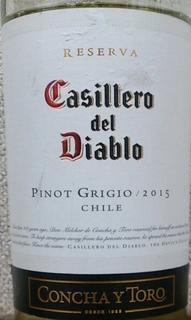 Casillero del Diablo Pinot Grigio Reserva