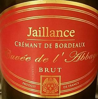 Jaillance Crémant de Bordeaux Brut Cuvée de L'abbaye