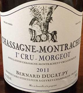 Bernard Dugat Py Chassagne Montrachet 1er Cru Morgeot