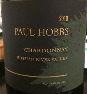 Paul Hobbs Chardonnay Russian River Valley(ポール・ホッブス シャルドネ ロシアン・リヴァー・ヴァレー)