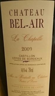 Ch. Bel Air La Chapelle