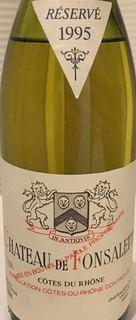 Ch. de Fonsalette Côtes du Rhône Réservé Blanc