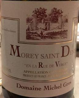Dom. Michel Gros Morey Saint Denis En La Rue de Vergy