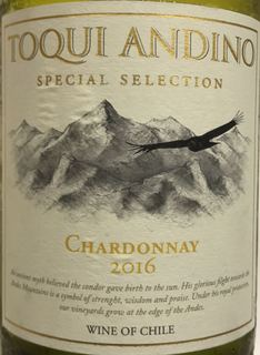 Toqui Andino Special Selection Chardonnay