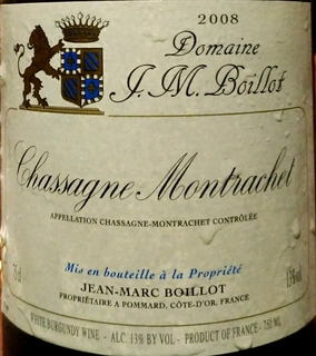 Dom. J. M. Boillot Chassagne Montrachet