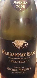 Dom. Michel Magnien Marsannay Blanc Plantelle(ドメーヌ・ミッシェル・マニャン マルサネ ブラン)