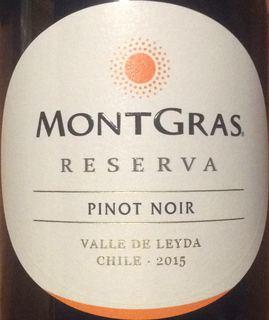 MontGras Reserva Pinot Noir