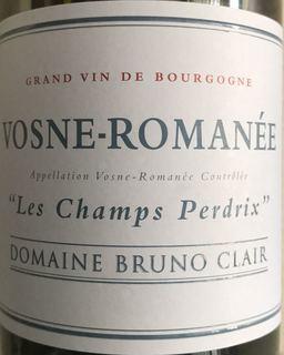 Dom. Bruno Clair Vosne Romanée Les Champs Perdrix