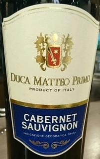 Duca Matteo Primo Cabernet Sauvignon(ドゥーカ・マッテオ・プリモ カベルネ・ソーヴィニヨン)