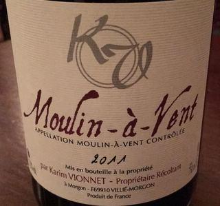 Karim Vionnet Moulin à Vent