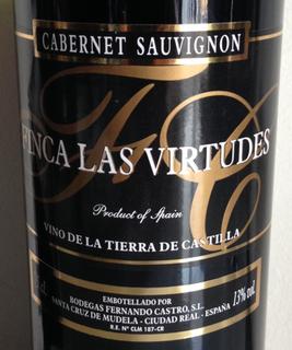 Finca Las Virtudes Cabernet Sauvignon