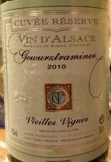 Turckheim Gewürztraminer Cuvée Réserve Vieilles Vignes