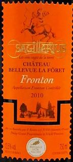 Ch. Bellevue la Forêt Sagittarius Fronton