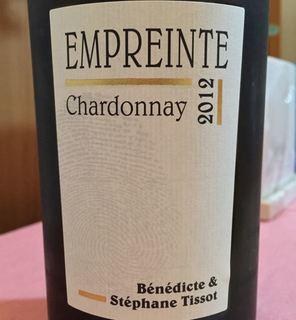 Bénédicte & Stéphane Tissot Empreinte Chardonnay