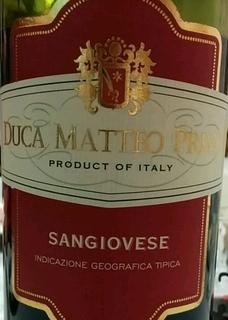Duca Matteo Primo Sangiovese