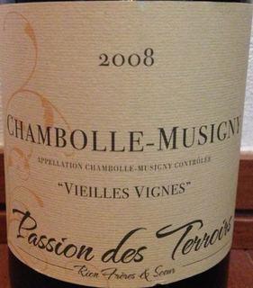 Rion Fréres & Soeur Chambolle Musigny Vieilles Vignes