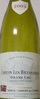 Prince Florent de Mérode Corton Grand Cru Les Bressandes(プランス・フローラン・ド・メロード コルトン グラン・クリュ レ・ブレッサンド)