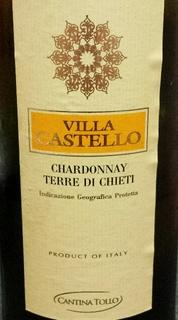 Cantina Tollo Villa Castello Chardonnay Terre di Chieti