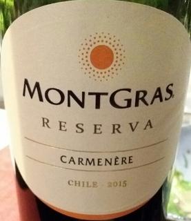 MontGras Reserva Carmenère