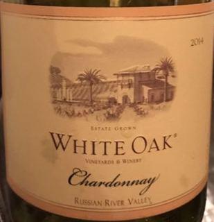 White Oak Russian River Valley Chardonnay(ホワイト・オーク ロシアン・リヴァー・ヴァレー シャルドネ)