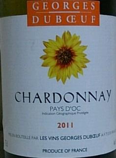 Georges Duboeuf Pays d'Oc Chardonnay