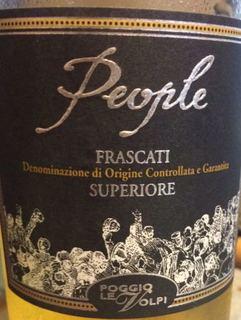 Poggio Le Volpi People Frascati Superiore(ポッジョ・レ・ヴォルピ ピープル フラスカーティ・スペリオーレ)