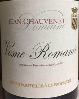 Dom. Jean Chauvenet Vosne Romanée(ドメーヌ・ジャン・ショーヴネ ヴォーヌ・ロマネ)
