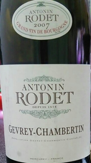 Antonin Rodet Gevrey Chambertin(アントナン・ロデ ジュヴレ・シャンベルタン)