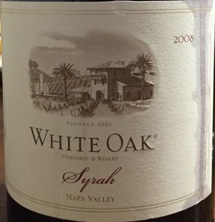 White Oak Napa Valley Syrah