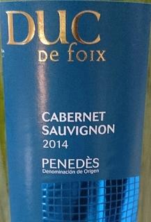 Covides Duc de Foix Cabernet Sauvignon