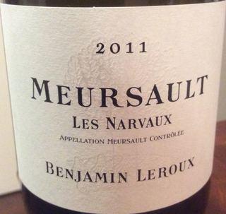 Benjamin Leroux Meursault Les Narvaux